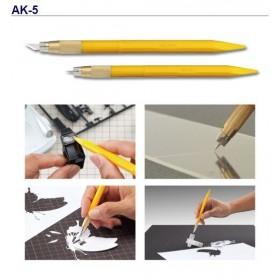 Olfa AK-3 Kretuar Desen Tasarım Bıçağı + 30 Yedek