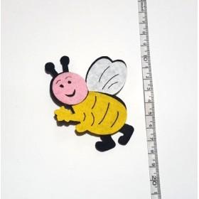 Tombik Arı 8cm Keçe Süs