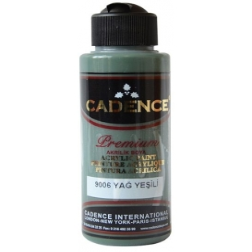 9006 Yağ Yeşili Cadence Akrilik Boya 120 ml