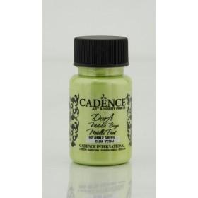 Cadence Dora 161 Elma Yeşili Metalik Boya 50 ml.