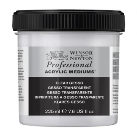 Winsor & Newton Professional Acrylic Clear Gesso 225ml (Şeffaf Gesso)