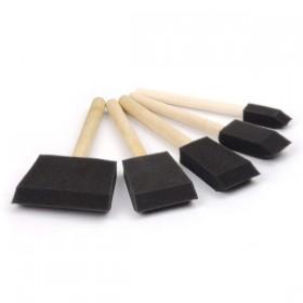Foam Brush - Sünger Fırça Seti 5'li