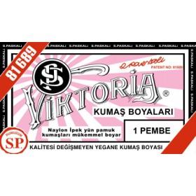 Viktoria Toz Kumaş Boyası 01 Pembe