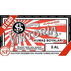 Viktoria Toz Kumaş Boyası 05 Al Kırmızı