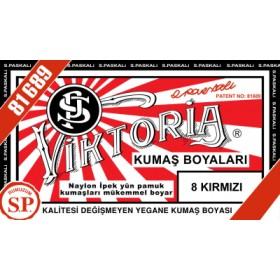Viktoria Toz Kumaş Boyası 08 Kırmızı