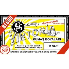 Viktoria Toz Kumaş Boyası 11 Sarı
