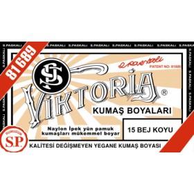 Viktoria Toz Kumaş Boyası 15 Bej Koyu