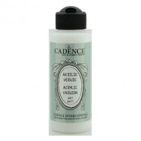 Cadence Su Bazlı MAT Vernik 120 ml