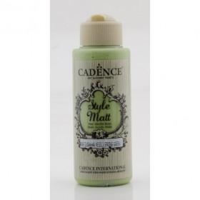 Cadence Style Matt Akrilik Boya 9065 İlkbahar Yeşili 120ml