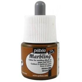 Pebeo Marbling 07 Kahve Ebru Boyası 45 ml