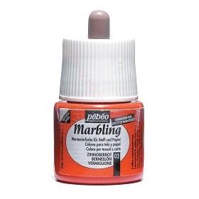 Pebeo Marbling 02 Kırmızı Ebru Boyası 45 ml