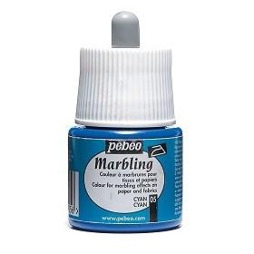 Pebeo Marbling 05 Mavi Ebru Boyası 45 ml