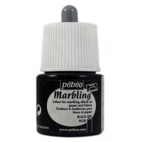 Pebeo Marbling 09 Siyah Ebru Boyası 45 ml