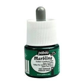 Pebeo Marbling Yeşil Renk Ebru Boyası 45 ml