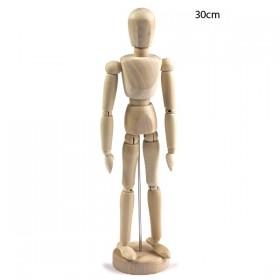 Ahşap Model Mankeni İnsan 30cm