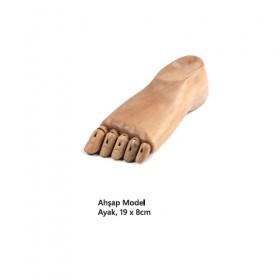 Ahşap Model AYAK 19x8cm
