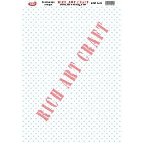 Rich Dekupaj Kağıdı 9470