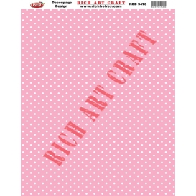 Rich Dekupaj Kağıdı 9476