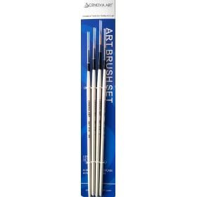 Cenova-Art Liner 4'lü Fırça Seti SET-S(10)