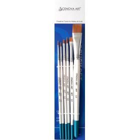 Cenova-Art Karma 6'lı Fırça Seti SET-12