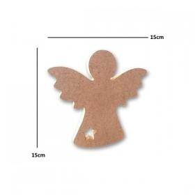 Ahşap Melek Figürü Küçük 15cm (No:1)