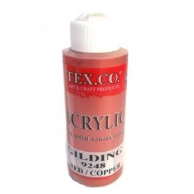 Tex.co 9253 Kızıl Bakır Metalik Akrilik 130 ml