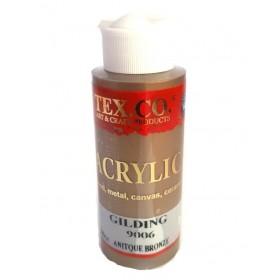 Tex.co 9006 Antik Bronze Metalik Akrilik 130 ml