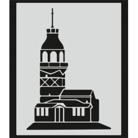 L081 Stencil 20x24 cm