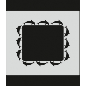 M096 Stencil 14x20 cm
