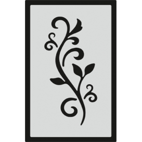 S088 Stencil 9x16 cm