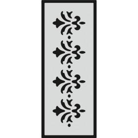 U083 Stencil 10x25 cm
