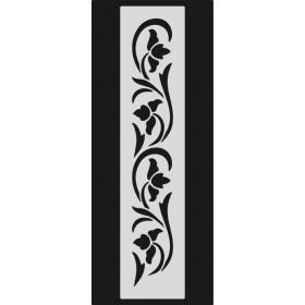 U087 Stencil 10x25 cm