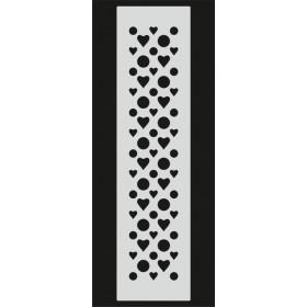 U089 Stencil 10x25 cm