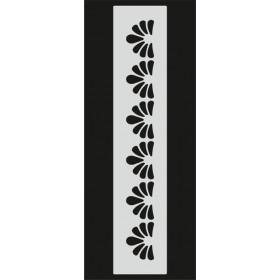 U090 Stencil 10x25 cm