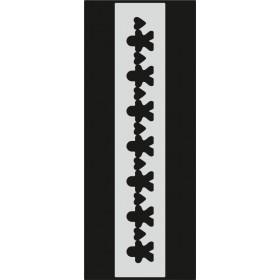 U091 Stencil 10x25 cm