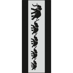 U092 Stencil 10x25 cm