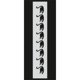 U093 Stencil 10x25 cm