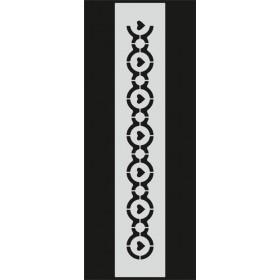 U094 Stencil 10x25 cm