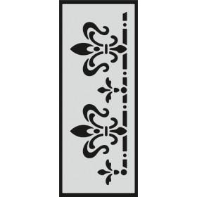 U096 Stencil 10x25 cm