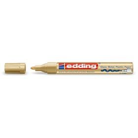 Edding 750 Hobi-Sanat Kalemi ALTIN 2-4mm Yuvarlak uç