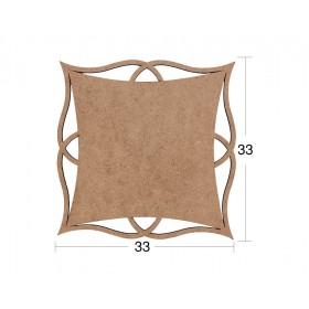 Geometrik Supla (Servislik) Ahşap Obje