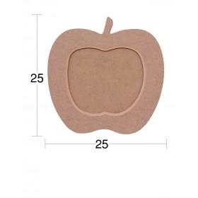Elma Resim Çerçevesi 25x25cm