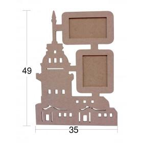 Kız Kulesi Resim Çerçevesi 49x35cm