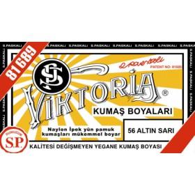 Viktoria Toz Kumaş Boyası 56 Altın Sarısı