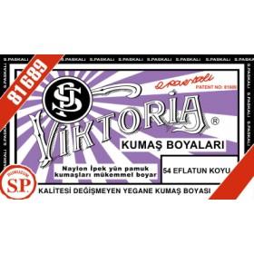 Viktoria Toz Kumaş Boyası 54 Eflatun Koyu