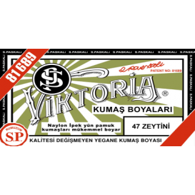 Viktoria Toz Kumaş Boyası 47 Zeytini