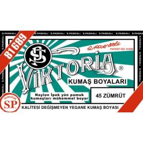 Viktoria Toz Kumaş Boyası 45 Zümrüt