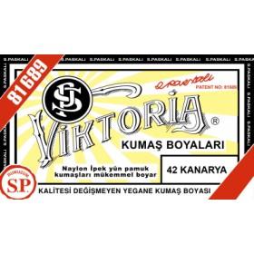 Viktoria Toz Kumaş Boyası 42 Kanarya