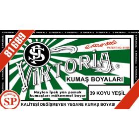 Viktoria Toz Kumaş Boyası 39 Koyu Yeşil