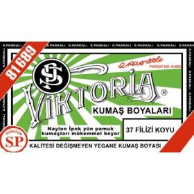 Viktoria Toz Kumaş Boyası 37 Filizi Koyu